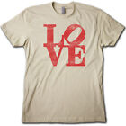 LOVE Park Urban PHILLY Skater T-Shirt • City of Brotherly Love Skateboarder TEE