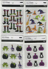 U CHOOSE  Assorted Recollections HALLOWEEN WITCH 3D Stickers hat broom potion