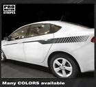 Dodge Dart 2013-2018 Javelin Strobe Side Accent Stripes Decals (Choose Color) $51.59 CAD on eBay