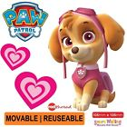 Skye Paw Patrol Wall Sticker Decor Movable Removable Decal Re-usable Kids Room