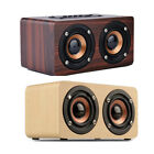 Multifunctional Wood Sound Speaker Portable Wireless Bluetooth TF Card AUX TV