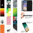 iPhone X Thin Silicone TPU Case [Screen Protector] Design [VAR26] $14.49 USD
