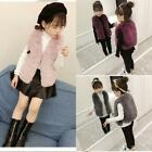 17AW Faux Fur Wraps Jackets Vest For Girls Cute Fashion Smooth Outerwear Shrug