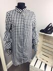 Missguided Gingham Tiered Sleeve Shirt Dress (AS-43/20)