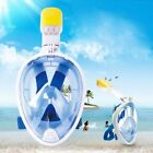 Full Face Snorkeling Mask Scuba Diving Swimming Snorkel Breather fr Gopro Camera