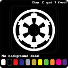 STAR WARS LOGO GALACTIC EMPIRE STICKER VINYL DECAL CAR WINDOW Buy2Get1Free $3.99 USD on eBay