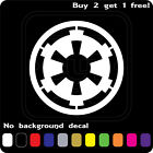 STAR WARS LOGO GALACTIC EMPIRE STICKER VINYL DECAL CAR WINDOW Buy2Get1Free $2.99 USD on eBay