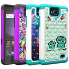 For ZTE Majesty Pro Case Diamond Bling Defender Shockproof Protective Cover