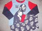 BOYS WRESTLING WWE PYJAMAS FEATURING THE ROCK IN AGES 5-6 AND 6-7 BNWT