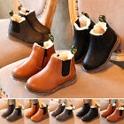 Winter Children Boy Girls Martin Boots Snow Baby Shoes Toddler Ankle Warm Boots