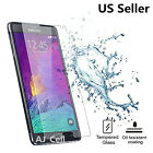 Lot 9H Premium Real Tempered Glass Screen Protector Samsung Galaxy Note 5 Note 3