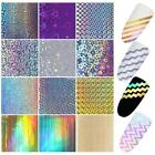 Nail Laser Stripe Tip 3D Stickers Manicure Template Nail Art Sticker N98B