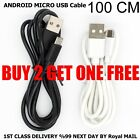 Android Micro USB Adapter Charging Cable Charger for Samsung LG HTC Sony Nokia