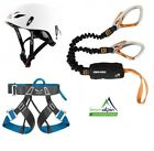 Klettersteigset Black Diamond Easy Rider + Salewa Evo Gurt +  Stubai Fuse Light