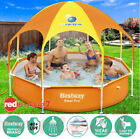 Swimming Play Pool Above Ground Bestway Steel Pro™ Canopy Shade Mist Head 2.44M