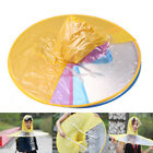 Portable Folding Rain Coat Umbrella Hat Hands Free For Adult Children Outdoor JA