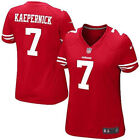 San Francisco 49ers Nike NFL #7 Colin Kaepernick Red Women's Limited Home Jersey