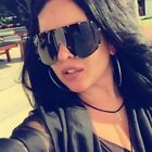 Oversized Goggle Sunglasses For Women Kim Celebrity Medusa Sunglasses Windproof