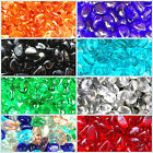 500 Glass Pebbles Nuggets Colour Stones Vase Fish Garden Path Wedding 3.5KG