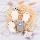 Cute Expression Cat Ball   Soft Bread Cell phone Straps Bun Key Chains JR