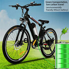 "36V 500W Mountain Bike 26"" Electric Bicycle Fat Tire EBike Free Shippping"