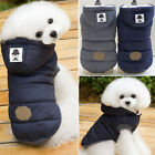 2017 Puppy Pet Dog Cat Clothes Hoodie Winter Warm Sweater Coat Costume Apparel