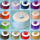 "1 1/2""x 25 yrd Mono Edge Organza RIBBON Wedding FAVORS Crafts Invitations Sewing"