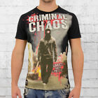 Mafia and Crime Herren T-Shirt Chaos schwarz Männer Tshirt Men's Tee black