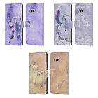 OFFICIAL SELINA FENECH UNICORNS LEATHER BOOK WALLET CASE COVER FOR HTC PHONES 1