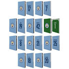 MAN CITY FC 2017/18 PLAYERS HOME KIT GROUP 1 LEATHER BOOK CASE FOR APPLE iPAD
