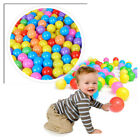100 300PCS Baby Kid Pit Toy Game Swim Pool Fun Colorful Soft Plastic Ocean Ball