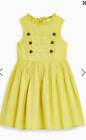 Girls dress  NEXT age 4 5 6 7 8 9 10 11 12 13 15 years  miliitary citrine