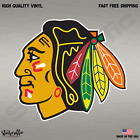 Chicago Blackhawks NHL Hockey Full Color Logo Sports Decal Sticker $2.99 USD on eBay