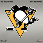 Pittsburgh Penguins NHL Hockey Full Color Logo Sports Decal Sticker $2.99 USD on eBay