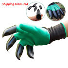 Garden Gloves with Claws Digging & Planting Durable Waterproof Gardening