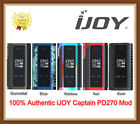 100% Authentic iJOY Captain PD270 Box 234W Dual 20700 Mod - Ship in 24 hrs