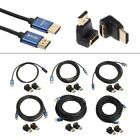 Lot HDMI V1.4 Male To Male 1080P Cable + HDMI Adapter For HDTV Laptop Projector