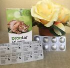 New Bayer Drontal Dewormer for Cats/Kittens (2-40 Tablets) USA Seller Ship Fast