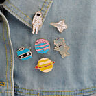 Cute Enamel Pin Warfare astronaut brooches lapel pin Astronomy Gift