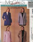 McCall's Sewing Pattern 2341 Palmer/Pletsch The Perfect Jacket, Uncut