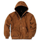 L&M Men's Winter Duck Jacket Coat Sandstone Canvas Quilted Thermal Industrial