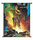 Military Police, Of the Troops and for the Troops Picture on Large Canvas Hung o