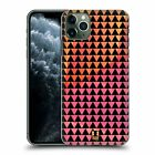 HEAD CASE DESIGNS TRIANGLES HARD BACK CASE FOR APPLE iPHONE PHONES