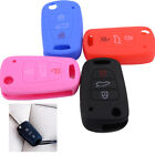 3 Buttons Silicone Flip Key Cover Case Fob Shell Fit for Hyundai i20 i30 IX35