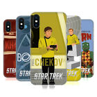 OFFICIAL STAR TREK EMBOSSED ICONIC CHARACTERS TOS CASE FOR APPLE iPHONE PHONES
