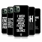 HEAD CASE DESIGNS SASSY QUOTES HARD BACK CASE FOR APPLE iPHONE PHONES