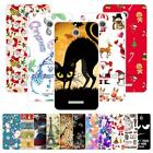 For HTC Desire 510 D510 A11 Christmas Plastic Case Cover 2018 New Year Tower Cat