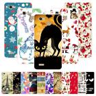 "For Huawei Enjoy 5S G8 Mini GR3 5.0"" Christmas Plastic Case Cover Cat Butterfly"