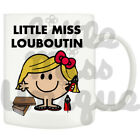 Little Louboutin wearing shoes boots purse - Unique Mug Xmas Gift NOVELTY