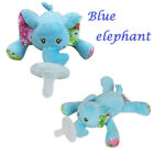 2018 Jollybaby Baby Infant love Animal Plush Soother Silicone Pacifier Kid Toys